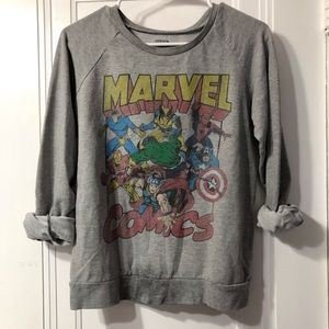 Abandoned Marvel pullover